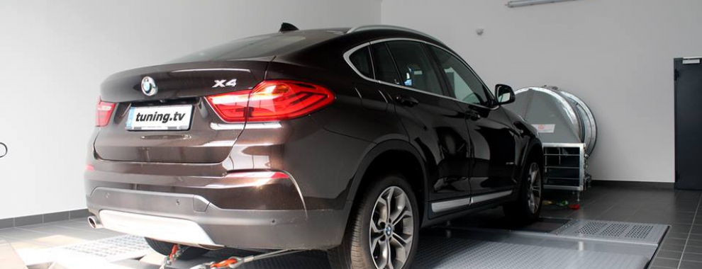 BMW X4 pojacan na 226 ks / 475 Nm